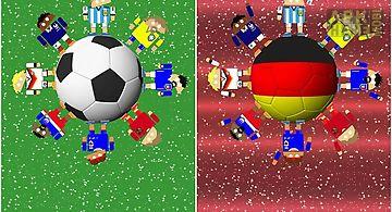 World soccer robots Live Wallpap..