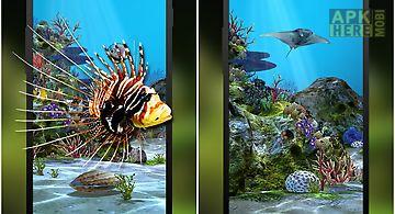 3d aquarium  hd Live Wallpaper