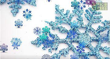Beautiful snowflakes Live Wallpa..