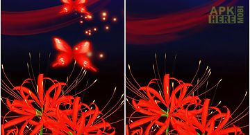 Butterfly and flower 3d Live Wal..