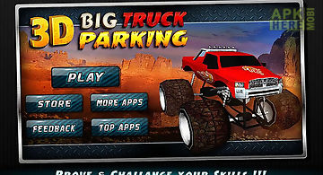 3d big truck parking★simulator