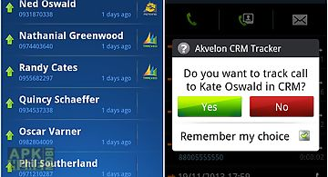Akvelon crm call tracker