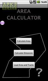 area & distance calculator gps
