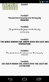 fonts for flipfont 2