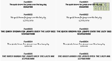 rounded fonts for flipfont for android free download at apk here