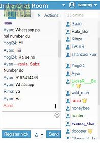 Popular chat rooms in india
