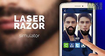 Laser razor simulator