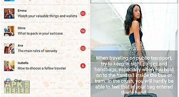 Lonely girls. travel guide