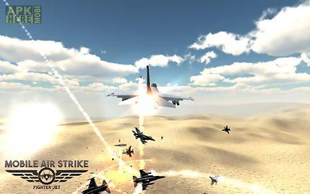 mobile air strike fighter jet