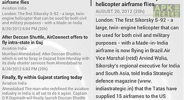 Aviation information