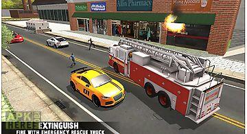 Emergency rescue urban city