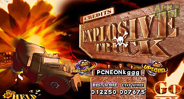 Explosive truck