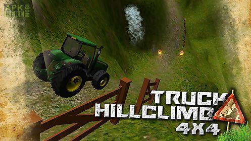 extreme truck hill climb race