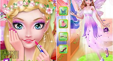 Fairy girls birthday makeover