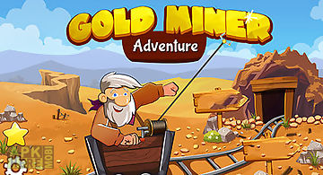 Gold miner: adventure. mine ques..