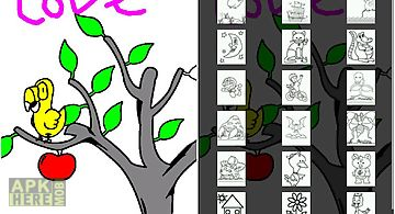 Kid Paint Coloring For Tablet