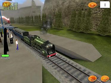 train driver - simulator