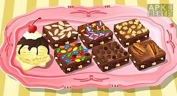 Cooking game brownie