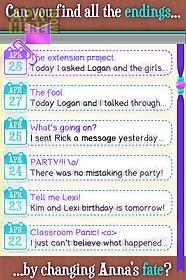 dear diary - interactive story