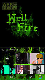 hell fire emoji ikeyboard 💀