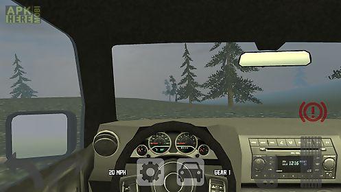 mountain offroad truck racer