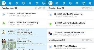 Upto - calendar and widget