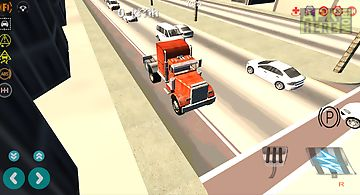 Big rig driving simulator 3d