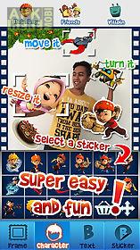 boboiboy photo sticker