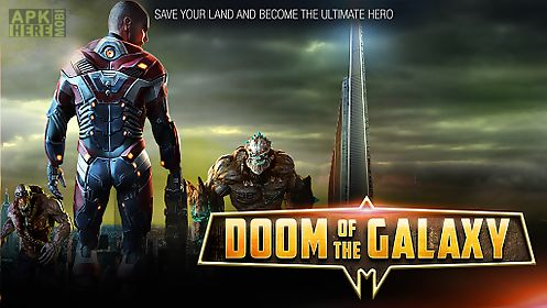 Doom of the galaxy - fps game for Android free download at