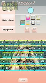 photo keyboard custom themes