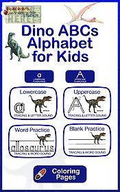 dino abcs alphabet kids games
