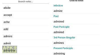 English verbs reference