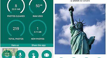 Photo delete app. delete photo