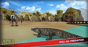 Wild crocodile simulator free