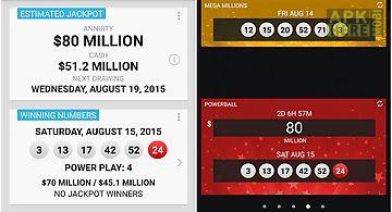 Mega millions powerball lotto