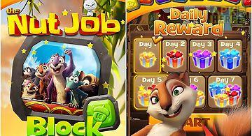 The nut job block puzzle