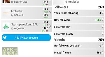 Track my followers for twitter