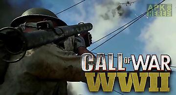 Call of war ww2: fps frontline s..