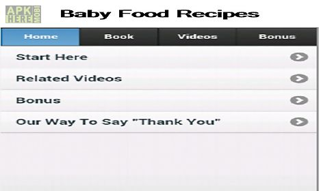 Baby food recipes for android free download at apk here store baby food recipes for android forumfinder Image collections