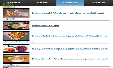 Baby food recipes for android free download at apk here store baby food recipes baby food recipes baby food recipes forumfinder Image collections