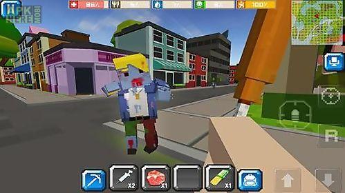 cube z: pixel zombies