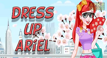 Dress up ariel princess to rest