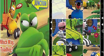 Kids puzzle jungle junction