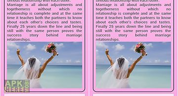 Marriage relationship book