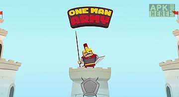 One man army: epic warrior
