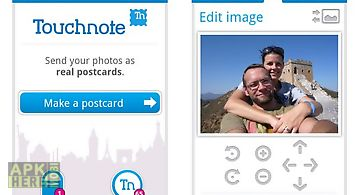 Touchnote postcards for android
