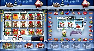 Christmas slots machine hd