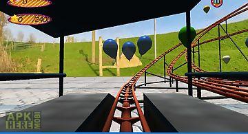 Roller coaster balloon tap