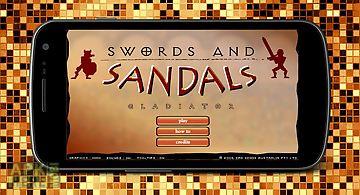 Swords sandals