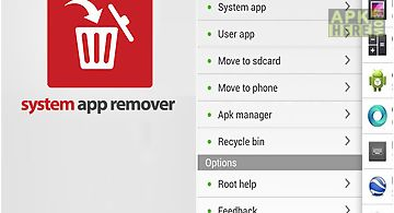 System app remover